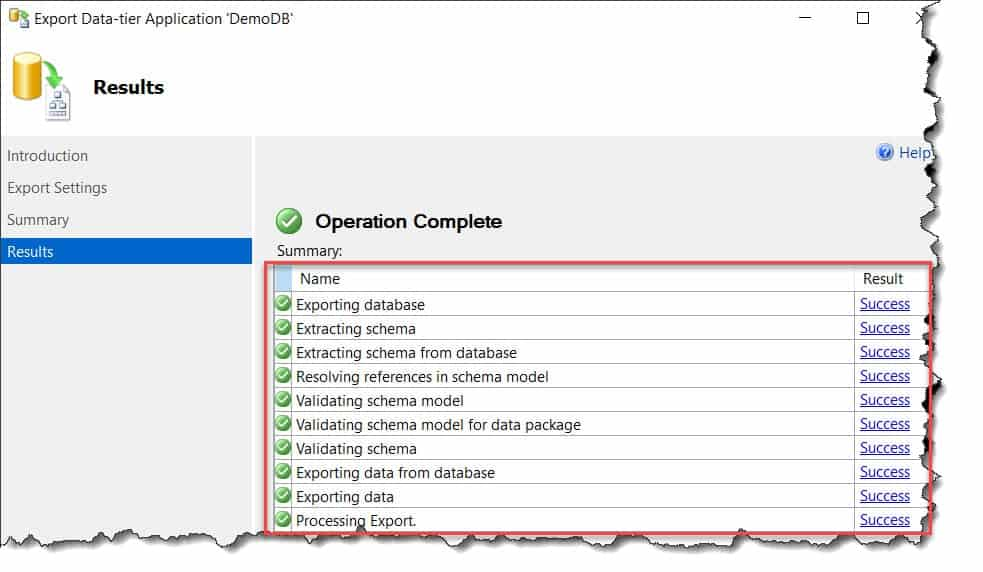 How to Copy Azure SQL database to Local Server