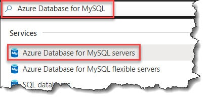 How to Create Azure Database for MySQL using Azure portal