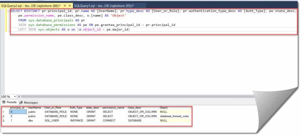 How to List User Roles in SQL Server