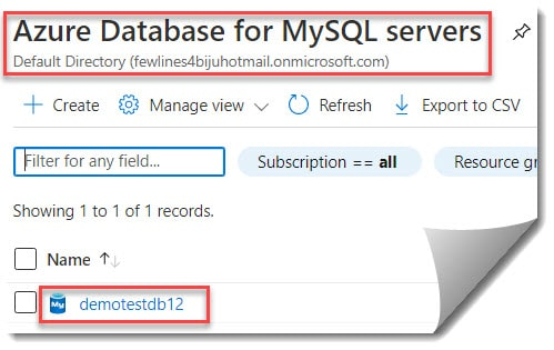 Steps to Stop Azure SQL Database Using Azure Portal