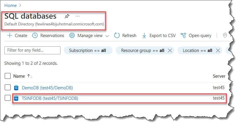 ssms deploy database to azure sql database