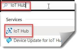 Create An Azure IoT Hub