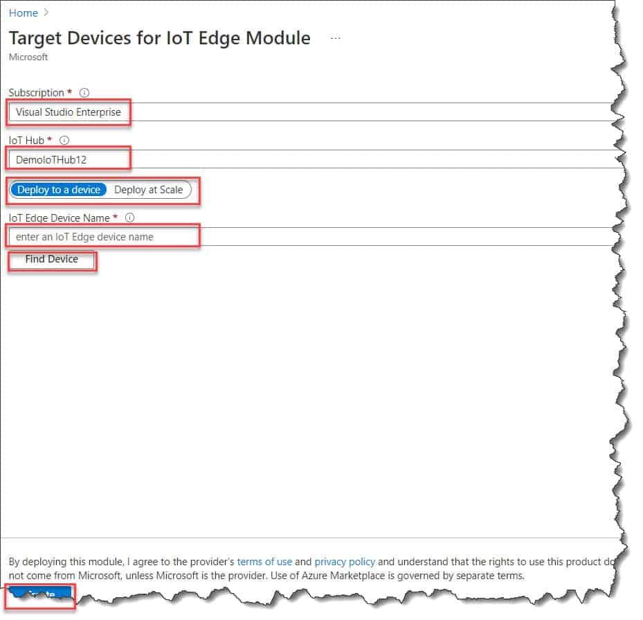 Creating Azure SQL Database Edge