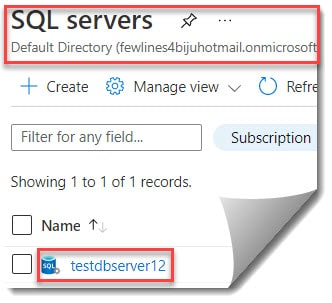 How To Restore Deleted Database Using Azure Portal