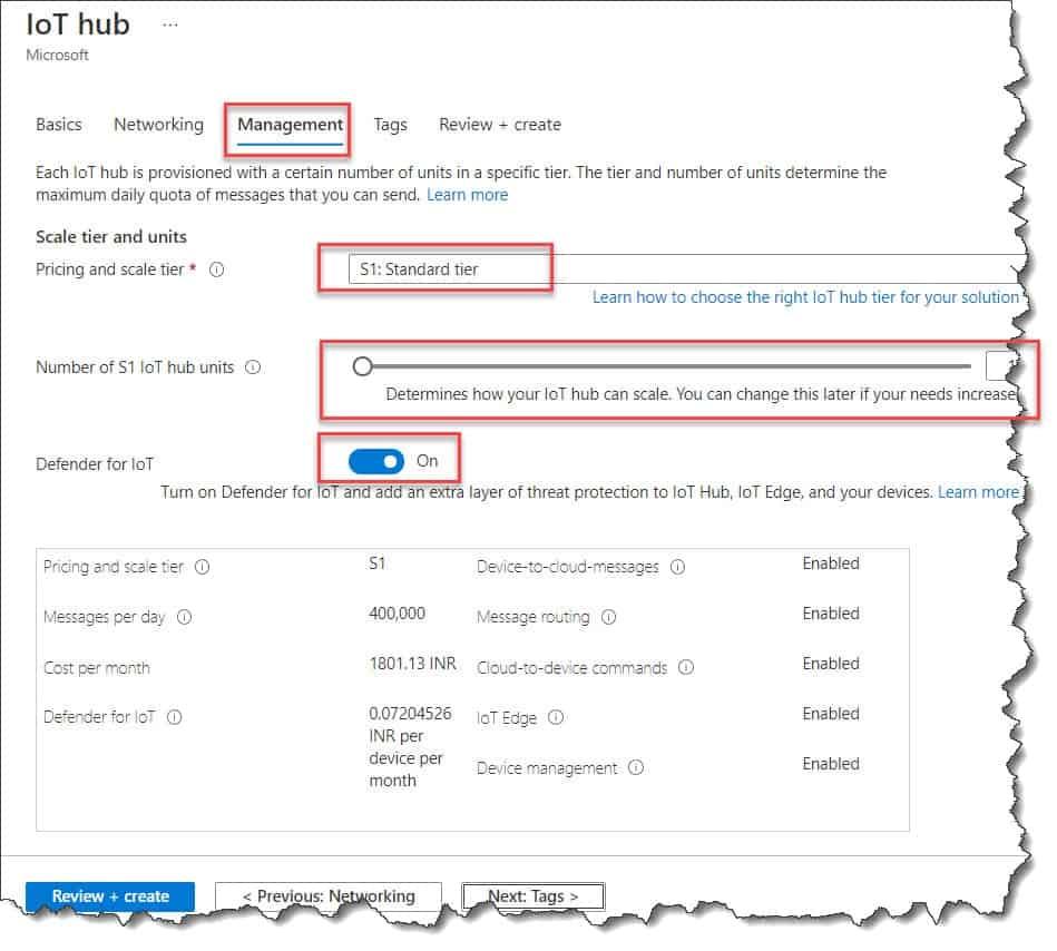 How to Create An Azure IoT Hub Azure Portal