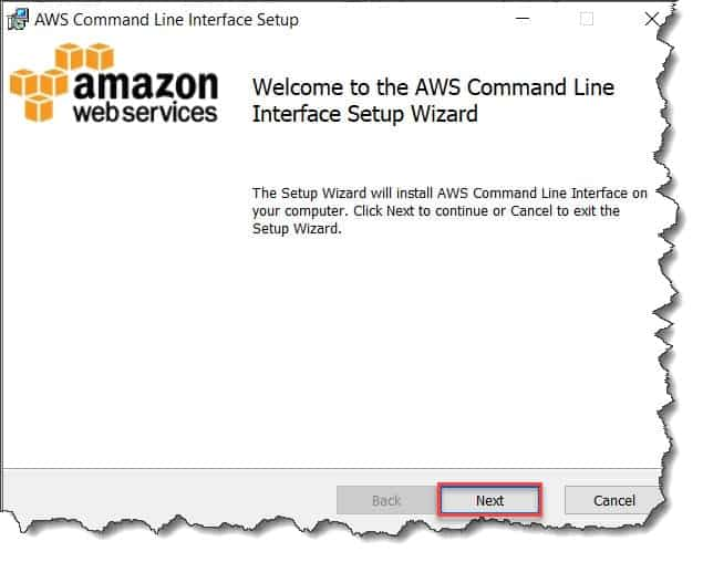 AWS CLI setup Download