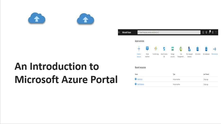 An introduction to Microsoft Azure Portal