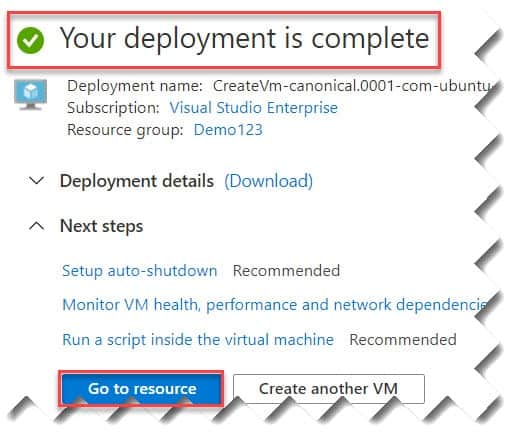 How to create Linux Virtual Machine In Azure