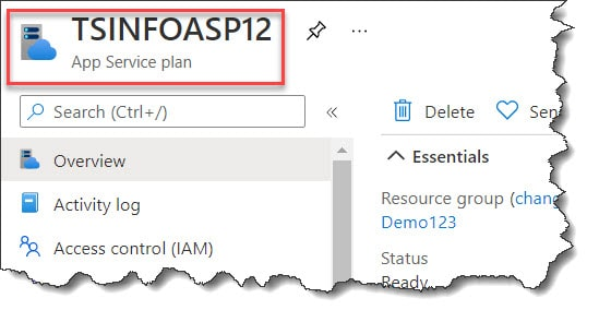 how to create App service plan in Azure using PowerShell