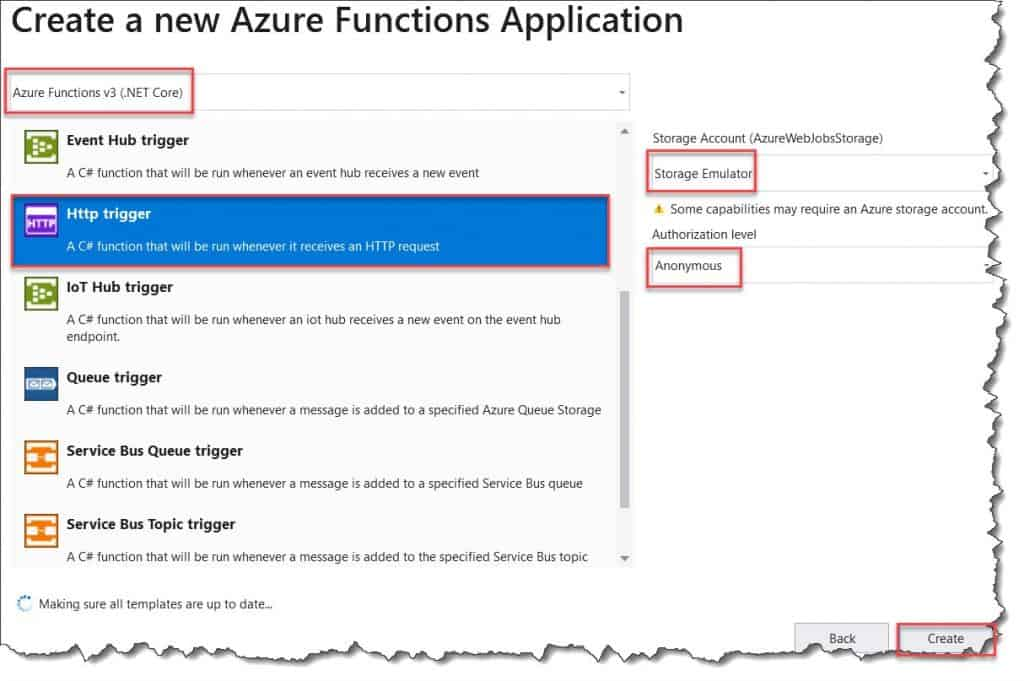 how to use Dependency Injection in Azure Functions V3 using .NET Core and C#
