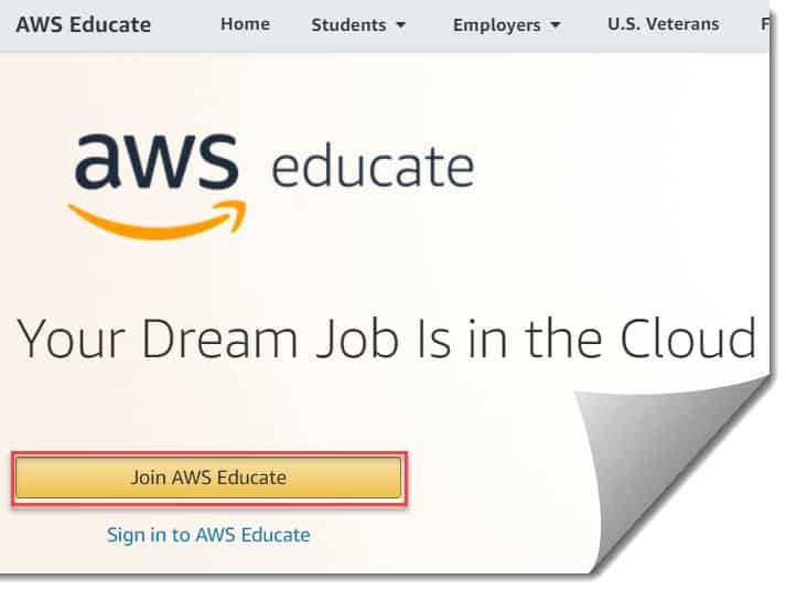 AWS Free Account For Students