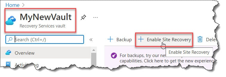Azure Site Recovery Step By Step