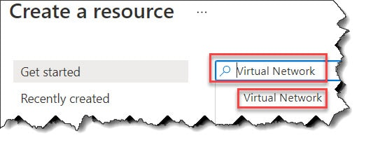 Create a Virtual Network In Azure using Azure Portal