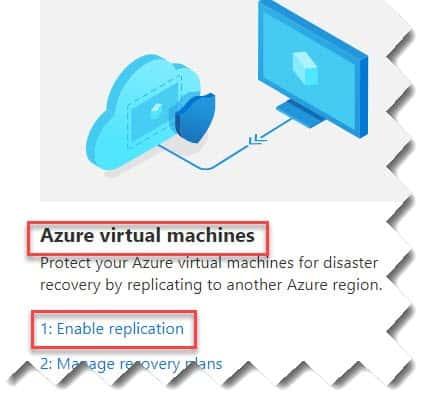 How do I set up Azure Site Recovery
