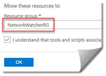 How to move Recovery Services vault to different resource group