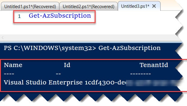 How To Open Azure PowerShell on Windows 10