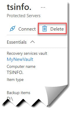 Vault cannot be deleted as there are existing resources within the vault error how to fix